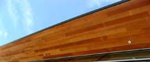 North Cal Reclaimed Redwood Ceiling Tile1-Lands End Lookout