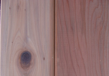 Lumber redwood decking by north cal wood products